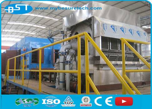 clamshell packaging pulp moulding machine