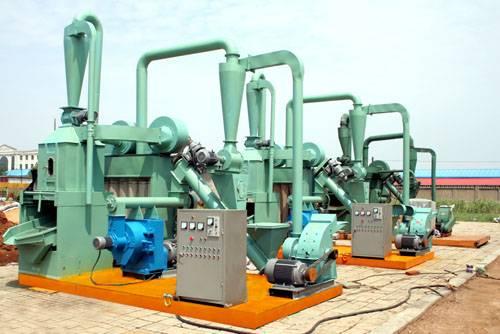 Mobile Wood Pellet Plant 200-300kgs per hour