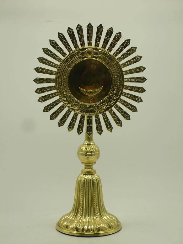 High Quality Brass Monstrance Ostensorium Religious Articles collection X 34
