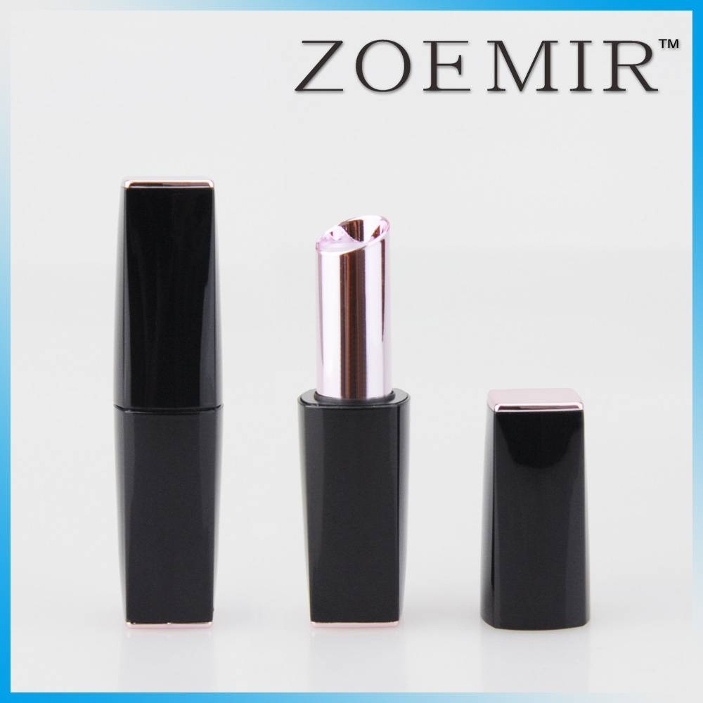 Fashion plastic lipstick tube pink sexy middle tube
