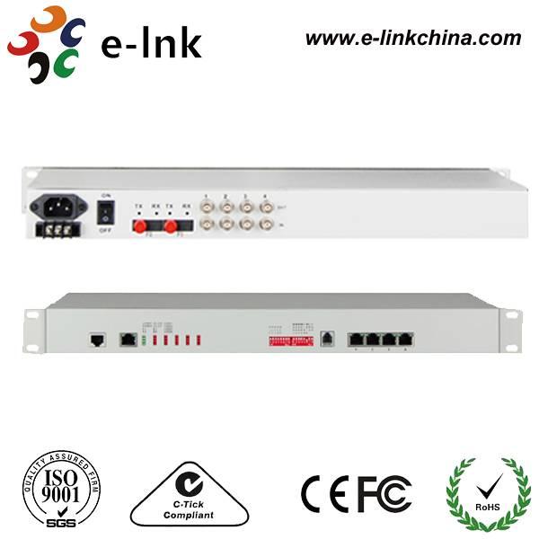 4E1 + 4FE 1+1 Fiber PDH Multiplexer