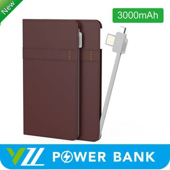 Stackable Best Selling New Power Bank 3000 mah