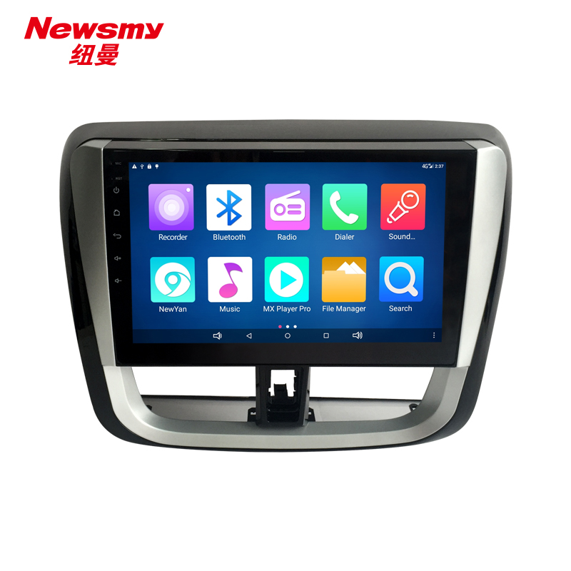 NM7121-H-H0 (Toyota Vios 2017) no canbus Newsmy CarPad4 head unit Android 5.0 with Newyan APP