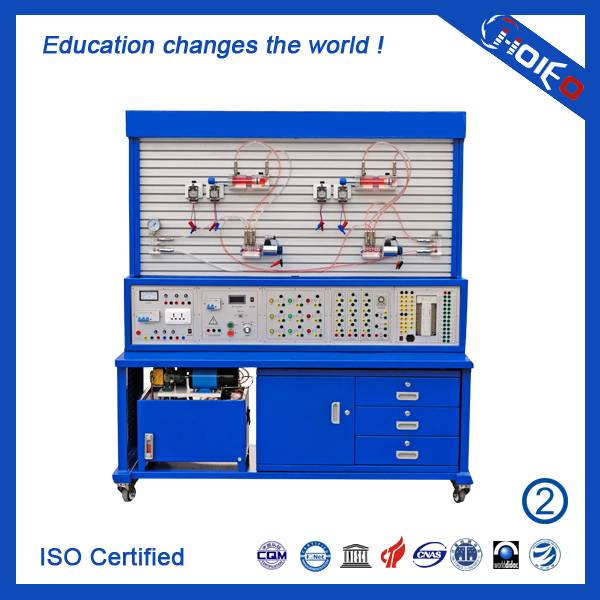 PLC Controlled Transparent Hydraulic System Trainer,technical educational trainer,vocational trainin