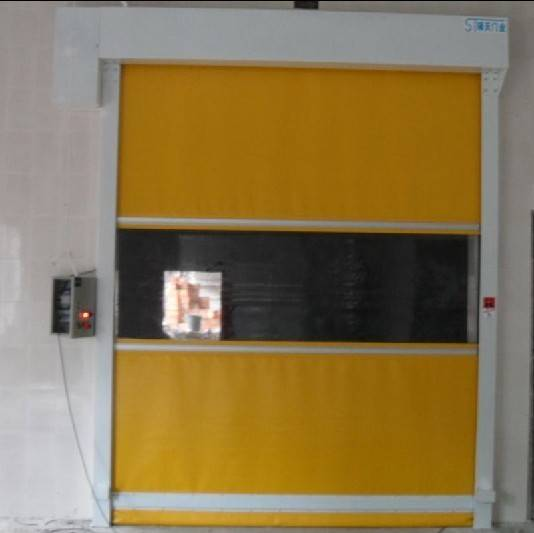 fabric roll up door
