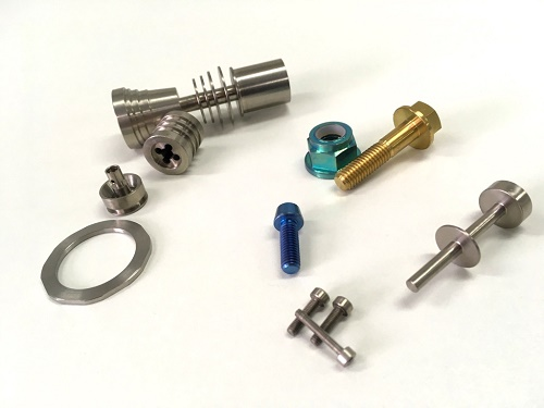 Titanium bolt nuts