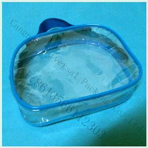 transparent plastic film used for pvc zipper bag