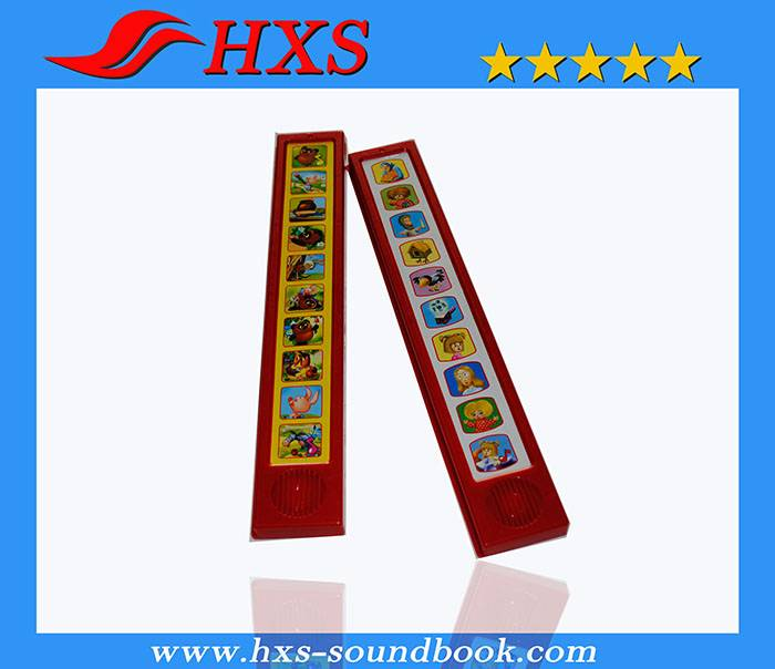 High Quality Children Electronic Music Sound Bar for Books