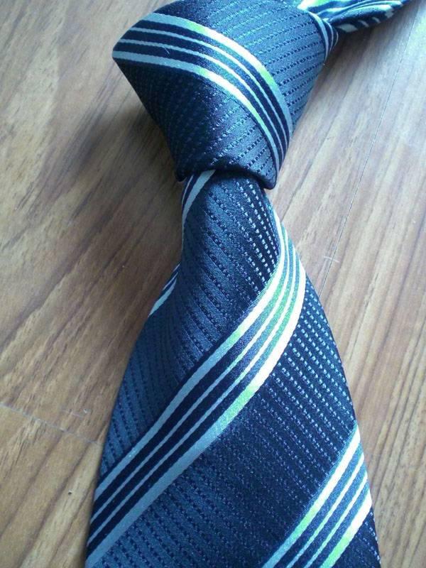 Blue Grid Neck Tie
