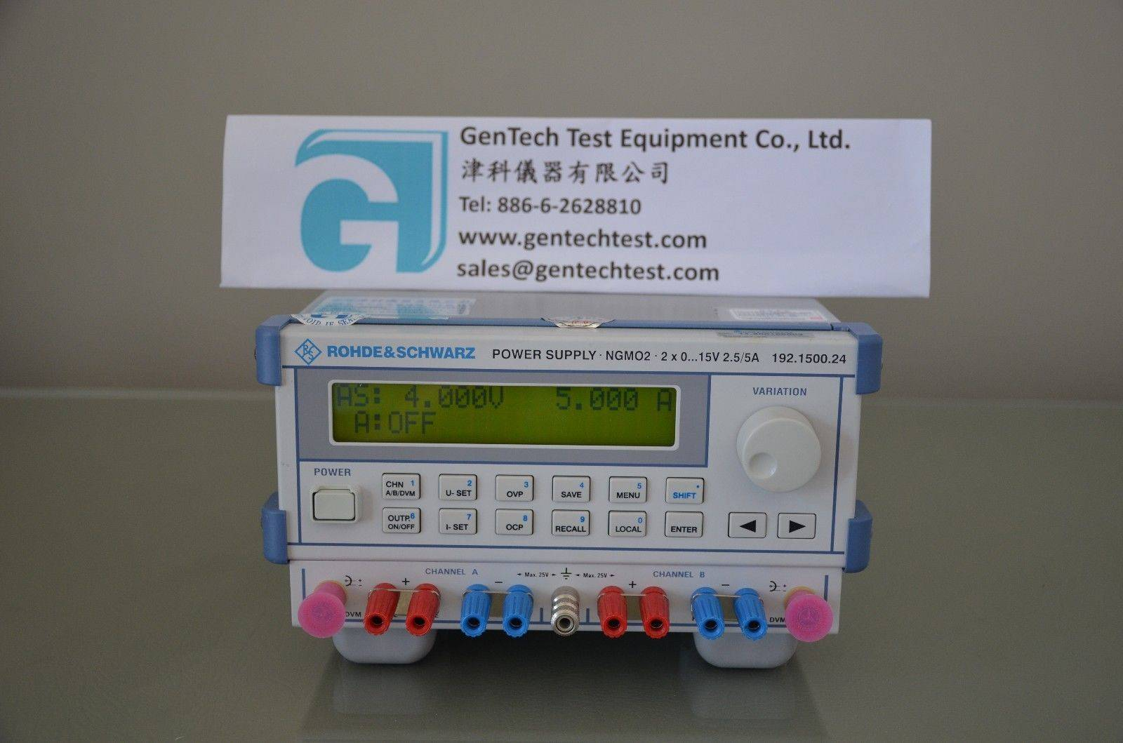 Rohde & Schwarz NGMO2 Dual-Channel Analyzer/Power Supply