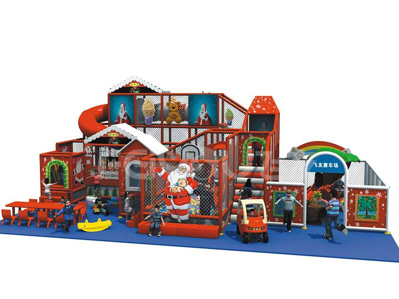 2015 top selling christmas theme park for kids naughty castle
