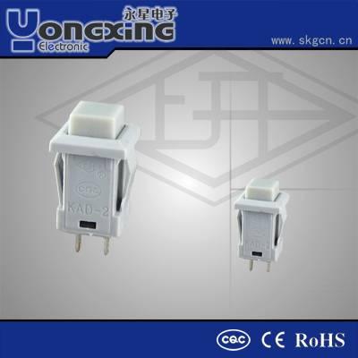 Hot sale IP40 1A 250V AC no nc automotive push button reset switch