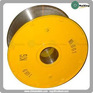 Metal cable puller wire drum bobbin custom mild steel wire spool cable steel wire drum