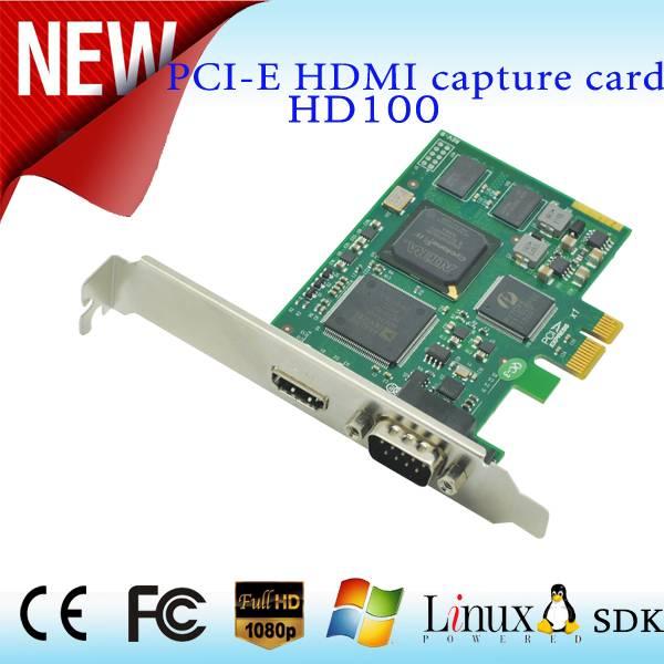 2015 factory direct sales One single S-VIDEO/CVBS/YPbPr 1080p HD laptop video capture card Hdmi pci