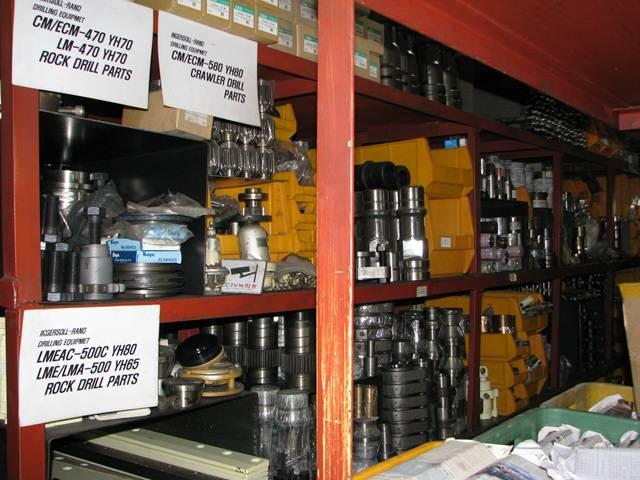Rock Drill Spare Parts for LM-470, CM-470, CM-580, LME-500C