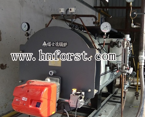 Reliable quality fire tube 1 ton oil boiler