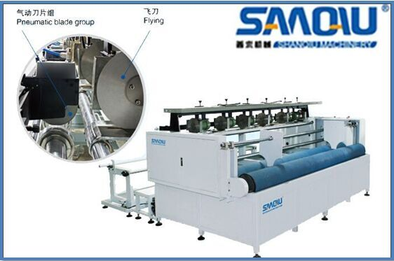 industrial fabric label cutting machine