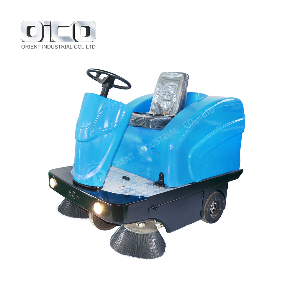 Electric Ride-on Street Cleaning Equipment Good Price Floor Sweeper Machine