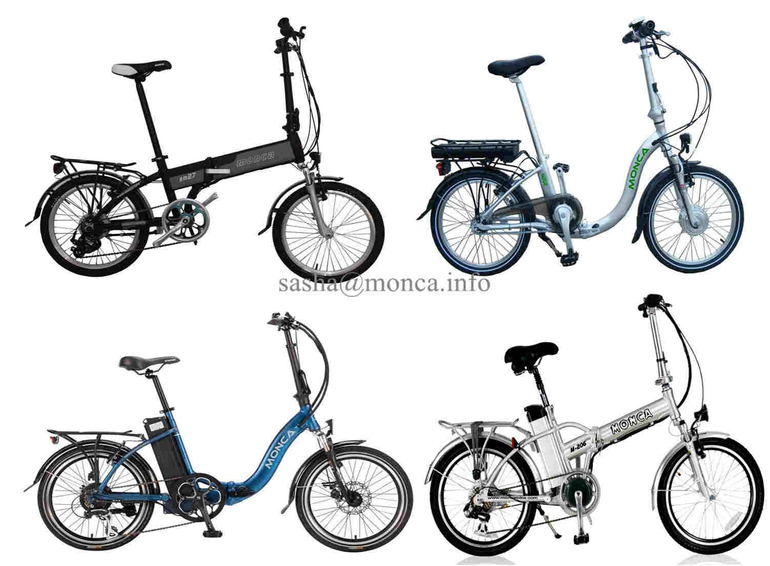 Popular Model of Electric Folding Bicycle