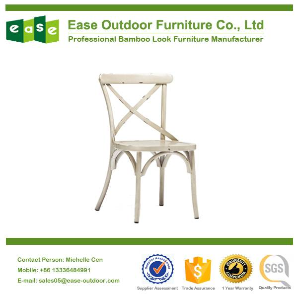 High quality outdoor aluminium chair for hospitality E1090