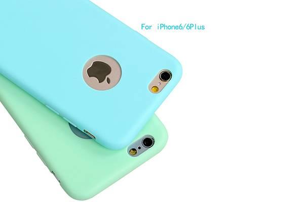 iPhone6/6plus ultra - thin jelly tpu phone Case