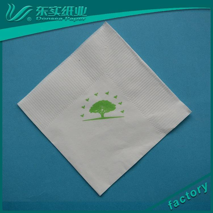 factory wholesale custom logo printed cocktail paper serviettes elegant paper napkin