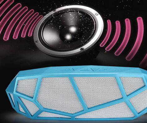 New Style Honeycomb Mini Speaker Outdoor Bluetooth Speaker