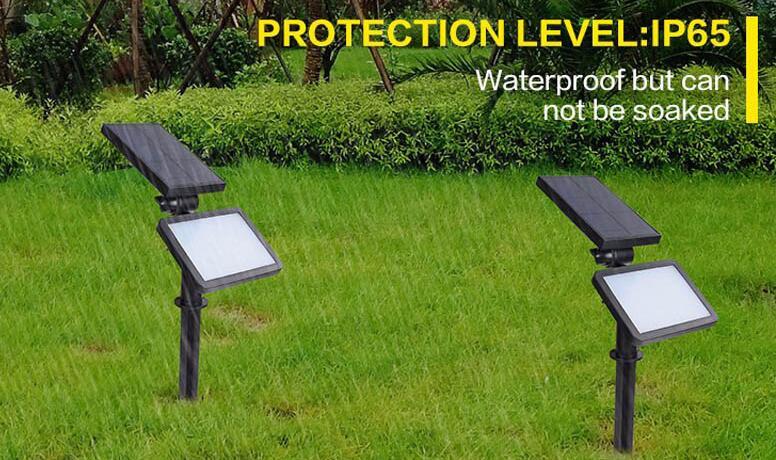 New Outdoor Solar Lamp IP65 Waterproof Modern Garden Solar lights