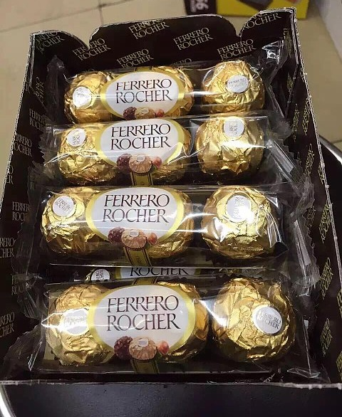 Ferrero Rocher T30 Chocolates 30pk 375g box