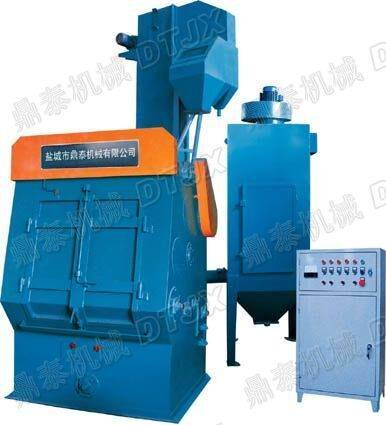 Dingtai Q32 series crawler type shot blasting machine