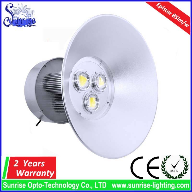 150W LED highbay light AC85-265V 90lm/w