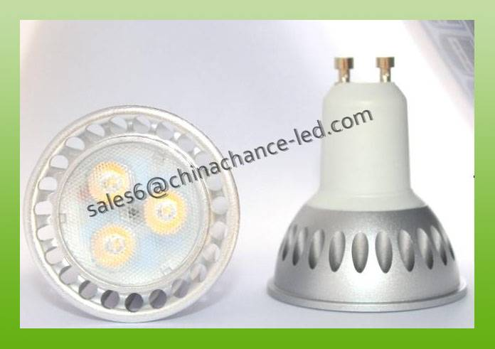 5w 220v GU10 led spot light dimmable anti-glare osram GU10 led
