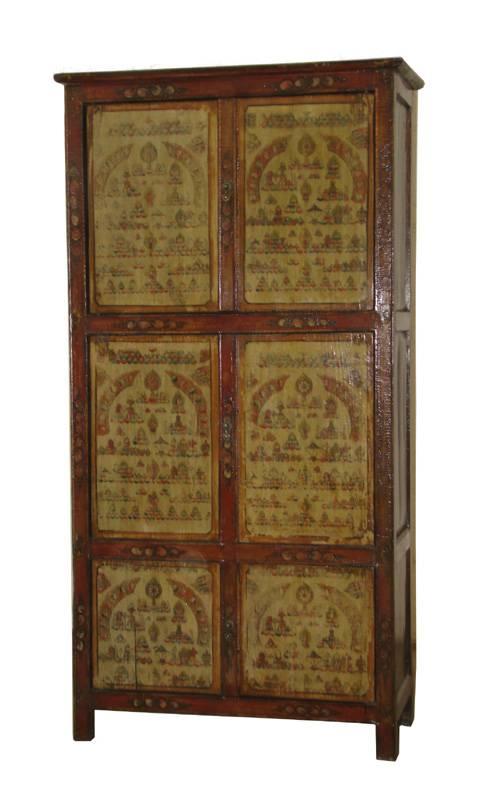 Eastcurio antiques tibetan cabinet