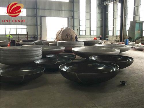 small carbon steel elliptical head ASME pressure vessel end