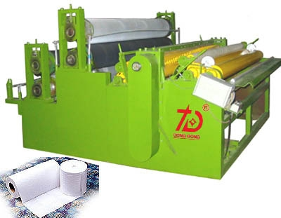 DH-YDJ-C EMBOSSING PERFORATING REWINDER