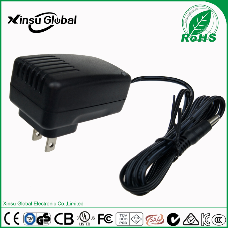 Energy Efficiency Level VI 10V 1.5A AC/DC Adapter with UL60950