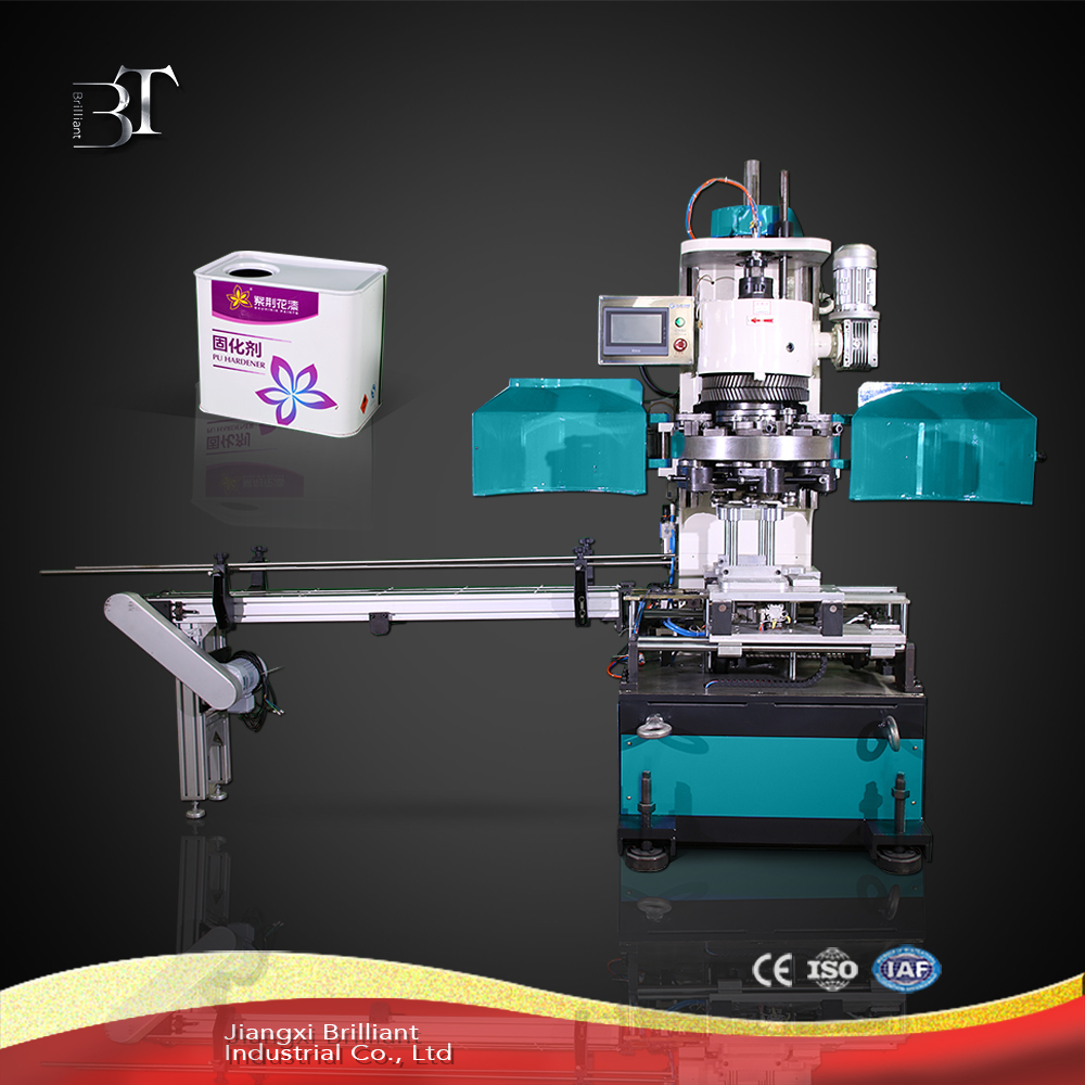 Automatic small square tin can(1-5L) sealing machine