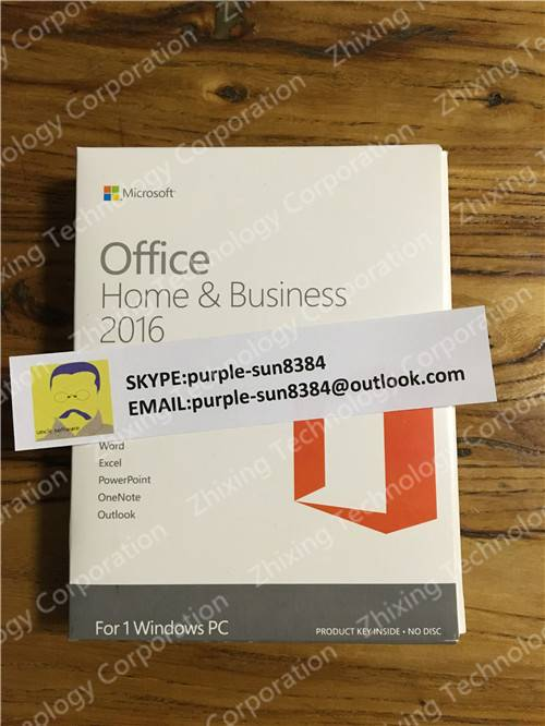 office 2016 home and business PKC Microsoft Corp direct shipment No intermediate link fpp