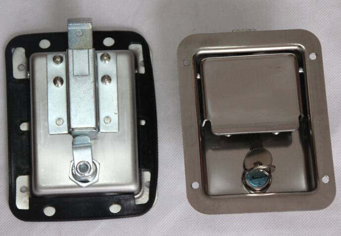Stainless steel paddle lock