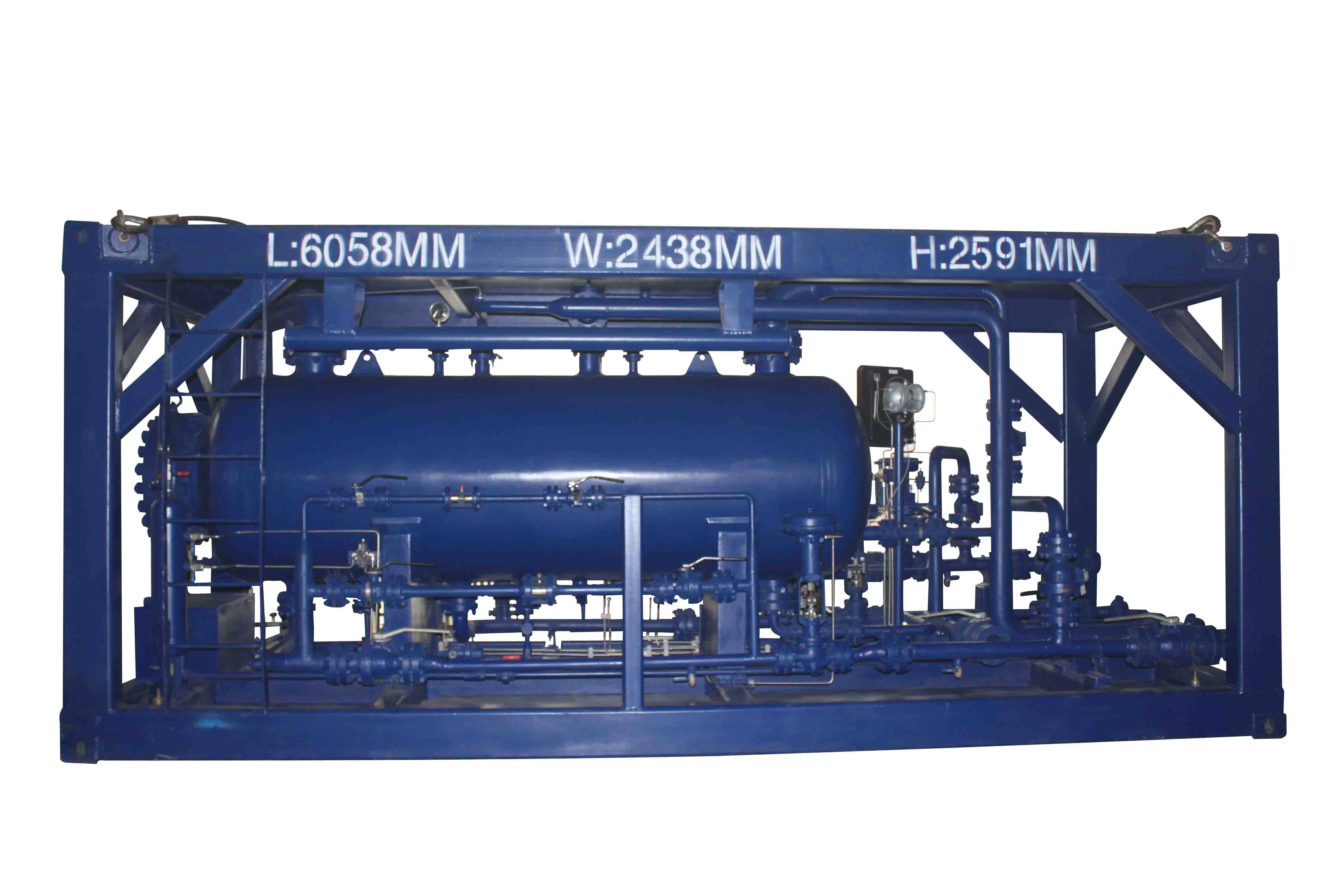 Three phase separator