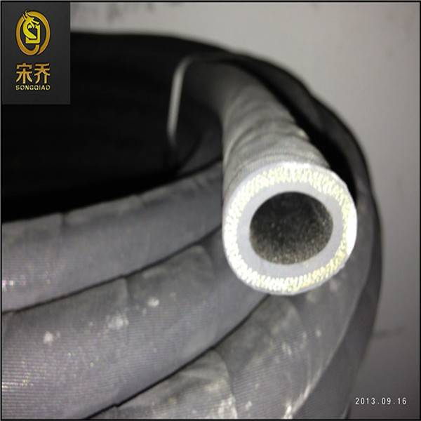 Smooth or Rough Surface Rubber Hose with Cloth Insert