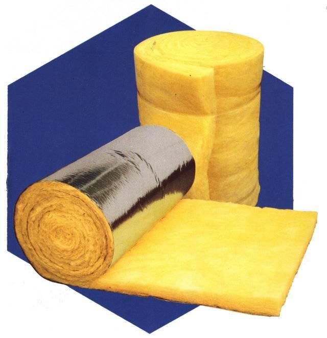 foil clod glass wool mat