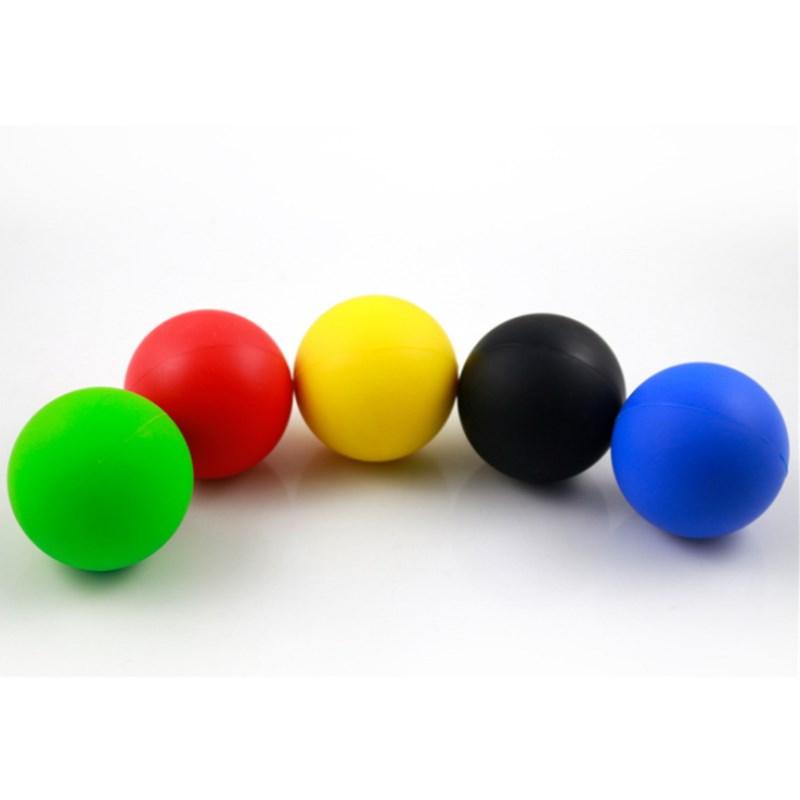 NCAA Standard Laser LOGO Rubber Lacrosse Ball