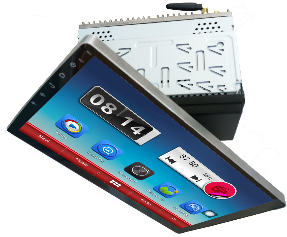 "10.1"" Android Capacitive Screen Universal Car Navigation"