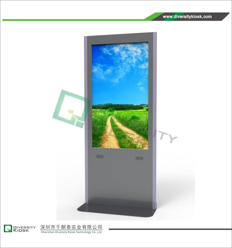 Indoor 55 Inch Digital Signage Kiosk with IR Touch Technology