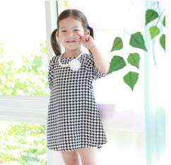 ForesnTree Swallow Rope Dress Kids Baby Clothing