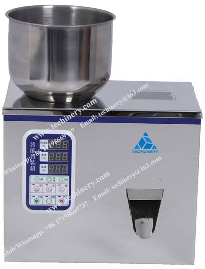 Table-top Granule particle powder weighing & filling machine