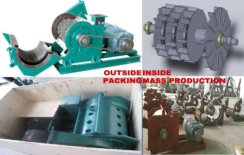 Turbo mill for Urea molding compound