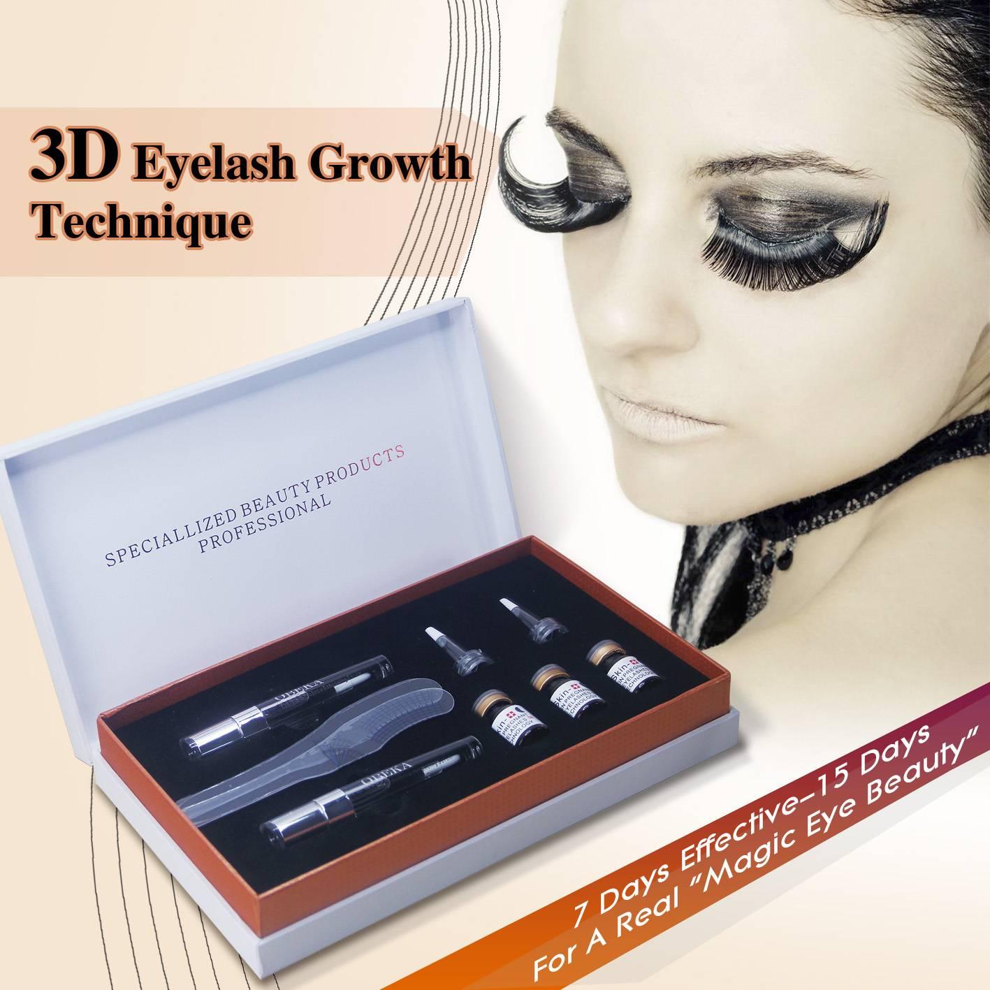 3D EYELASH GROWTH TECHNIQUE