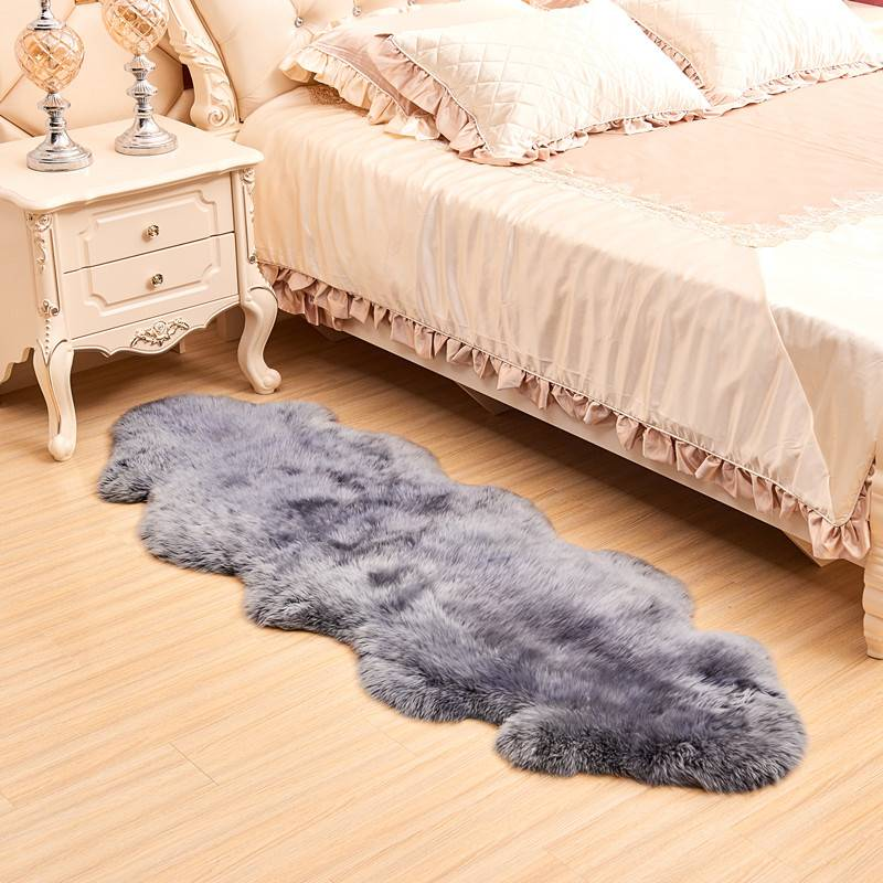 Austraslia Genuine Long Fur Sheepskin Rug Wholesale